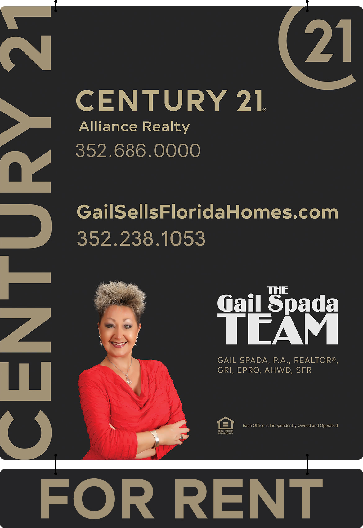 Rent your with THE Gail Spada TEAM