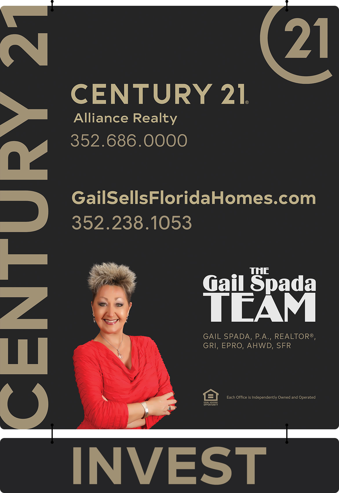 Invest in Hernando County real estate with THE Gail Spada TEAM.