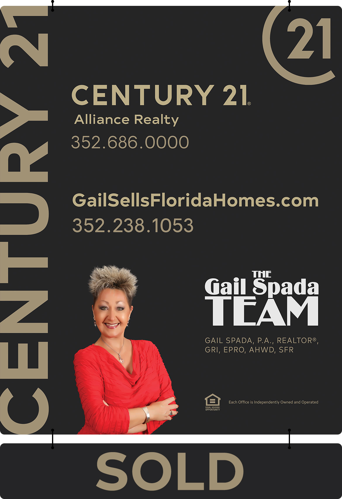 Get your home sold with THE Gail Spada TEAM